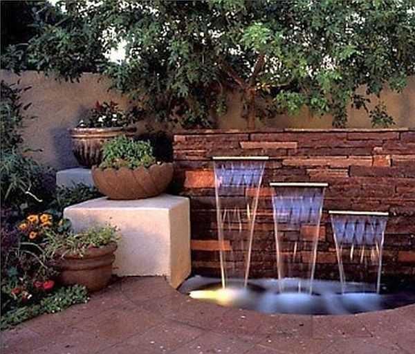 насос для фонтана и водопада