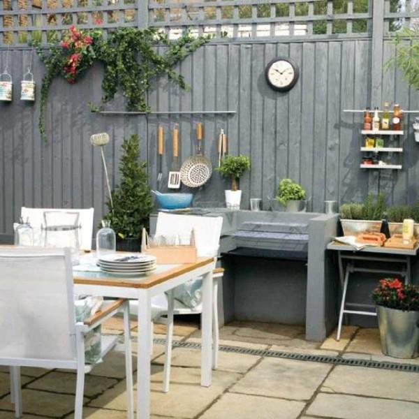 садовая кухня своими руками