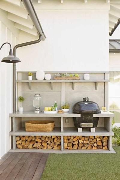 дизайн летней кухни на даче фото