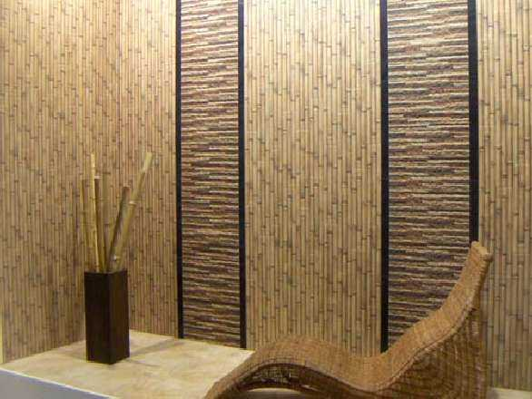 Бамбуковые обои для коридора в восточном стиле - отличный выбор