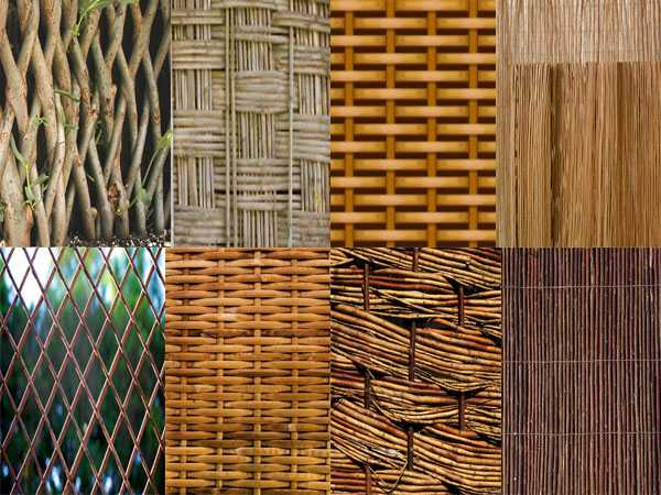 Вариации рисунков плетения