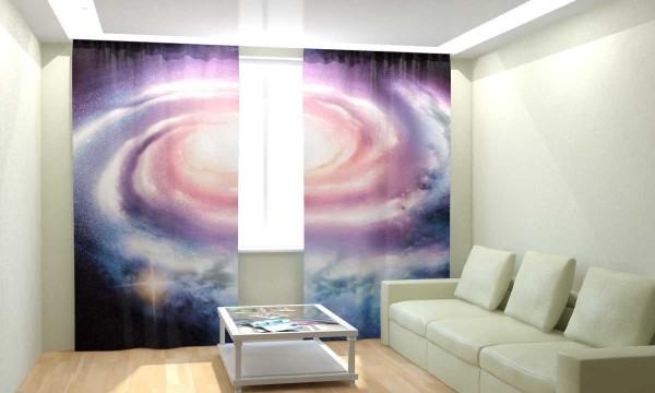 3д шторы в гостиной