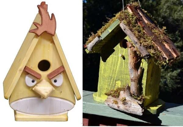 Креативно тоже может быть безопасно для птиц))