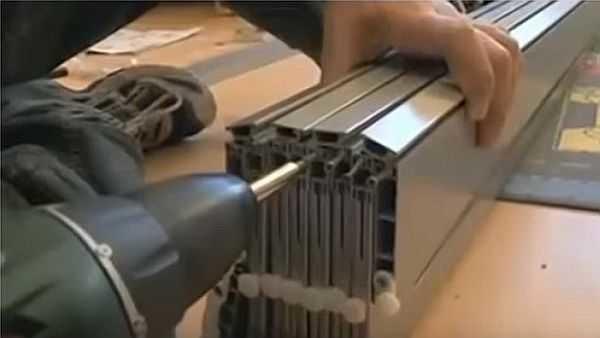 Закрепляем гибкие части