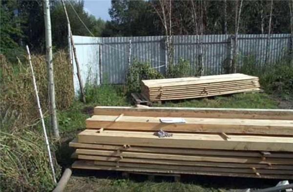 Материалы для строительства каркасного гаража