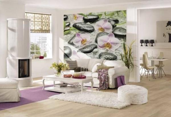 Красивые цветы создают романтичную обстановку
