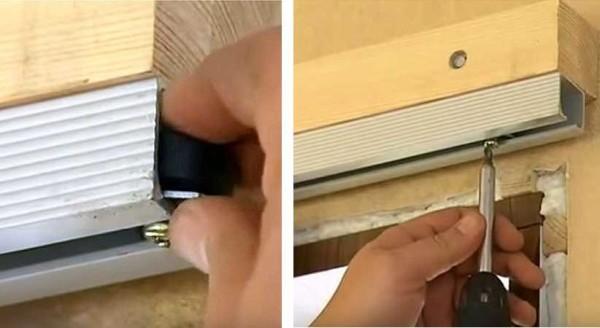 Установка стопоров на сдвижных дверях