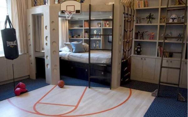 Для юных баскетболистов