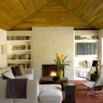 Деревянный куполообразный потолок - очень необычно