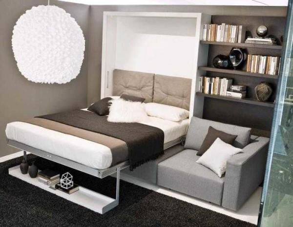 Рскладная кровать-шкаф
