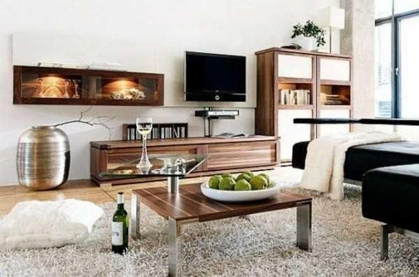 Мебель подбирается простых форм