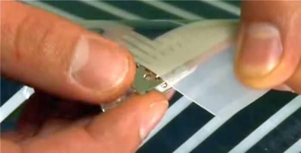 Установка контактных пластин