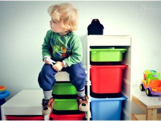 Пластиковые комоды в детской - удобно и гигиенично