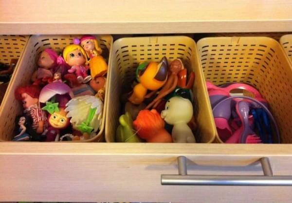 Хранение игрушек надо организовать правильно