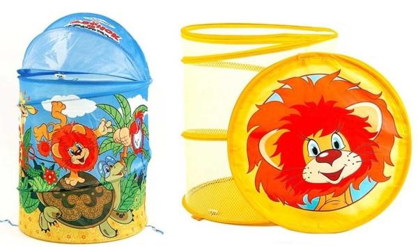 Складные матерчатые корзины для хранения игрушек