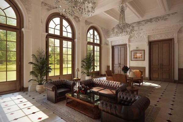 Симметрия в расстановке мебели - один из принципов классического стиля оформления помещений