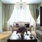 Классический интерьер можно реализовать и в квартире, правда, большой площади
