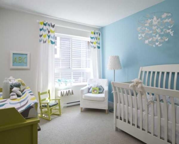 Основной набор мебели для комнаты новорожденного