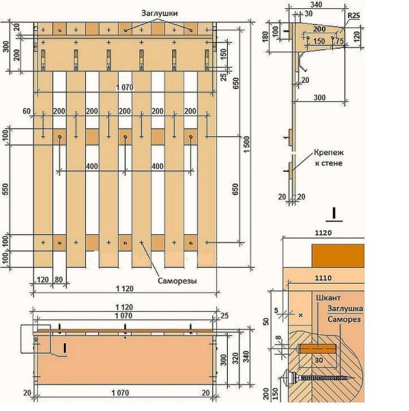 nastennaja-veshalka-1-1-596x600 Как сделать вешалку