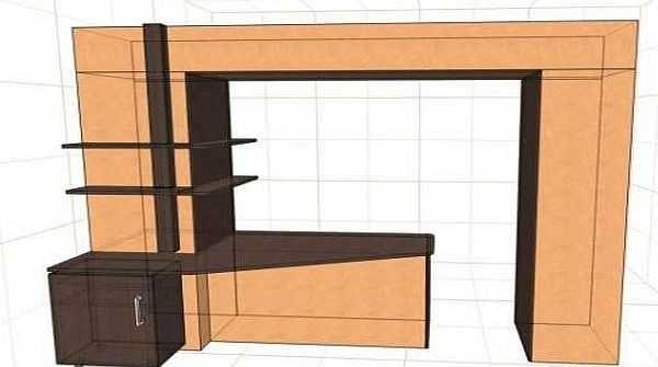 Для такого варианта объединения балкона и комнаты или кухни разрешения не нужно