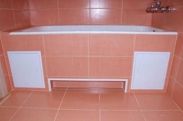 Ванная готова