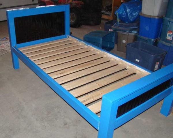 Кровать для детей своими руками собрана