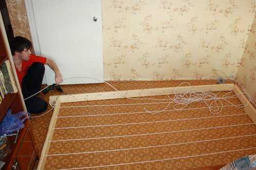 Готовим стенку для лазанья