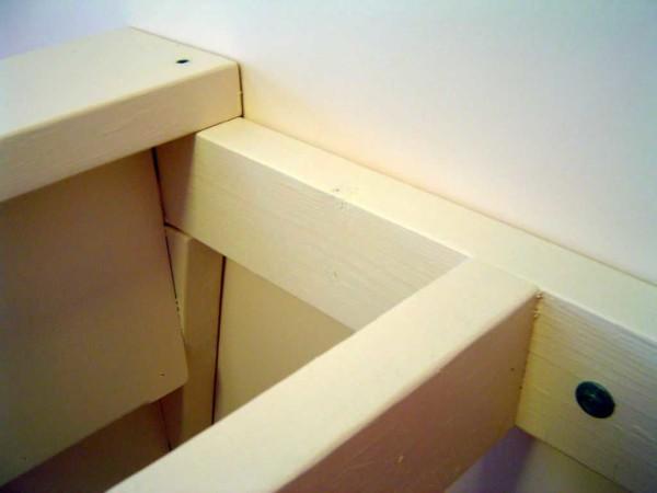 Так выглядит узел соединения с лестницей