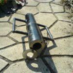 Так выглядит снаряд для забивания скважины