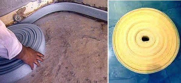 Укладка бетонного пола в гараже