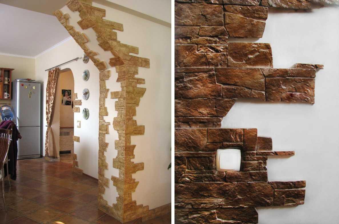 Декоративные отделки из камня картинки