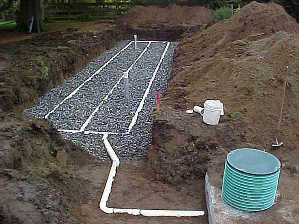 Пример фильтрационного поля для дачи