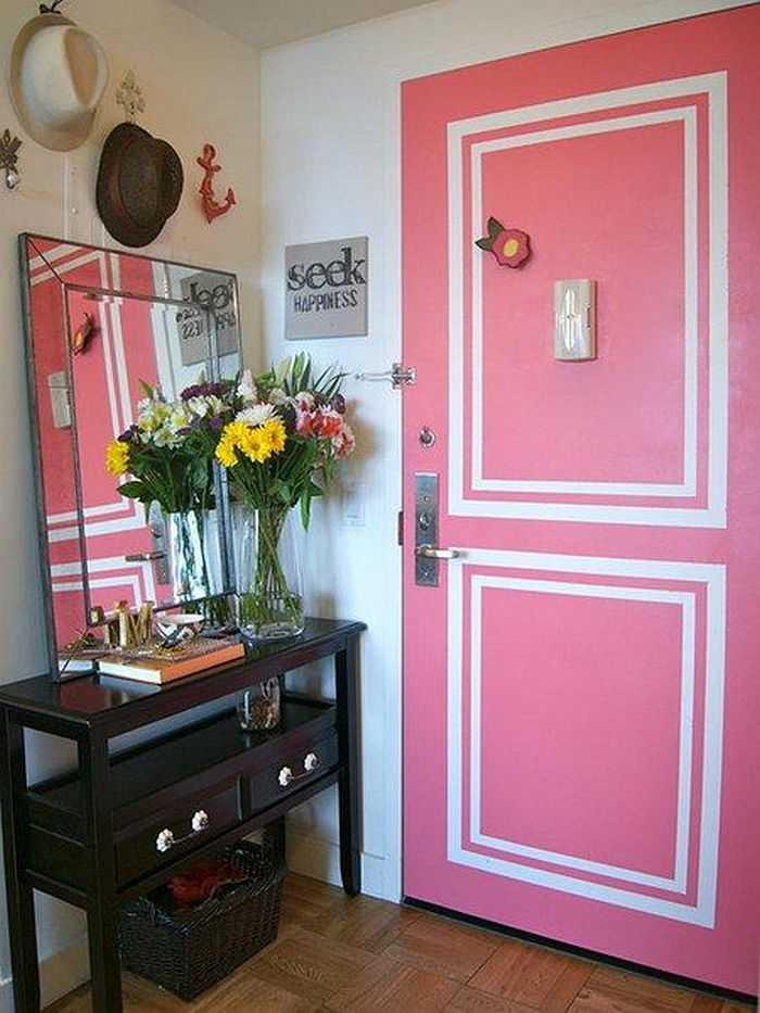 Как можно покрасить старые межкомнатные двери фото