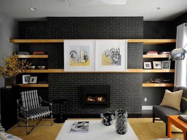 Декоративный камин вписывается в самые модные стили - минимализм, хай-тек, современный