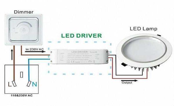 Как подключить диммер к светодиодным лампам и лентам