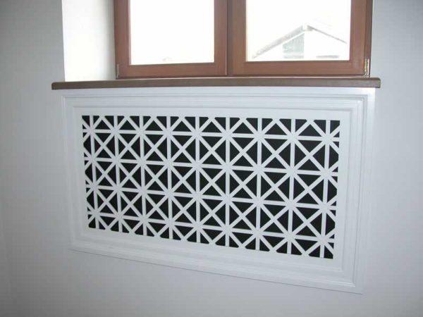Плоские экраны устанавливают если радиатор спрятан в нише