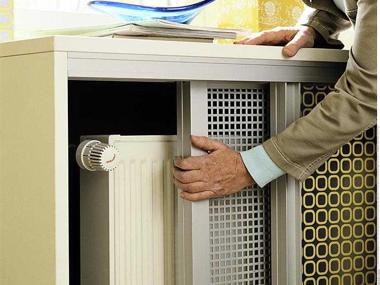 Раздвижные экраны для батарей отопления