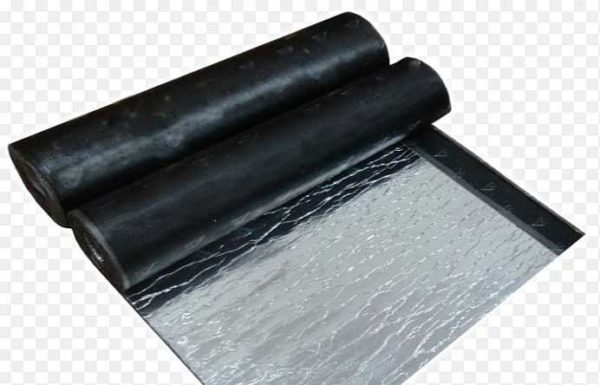 Фольгоизол - с одной стороны на битумно-полимерное связующее наклеена фольга