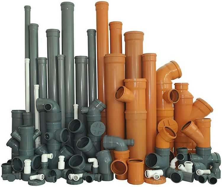 Пластиковые канализационные трубы делают из различных полимеров и их композиций