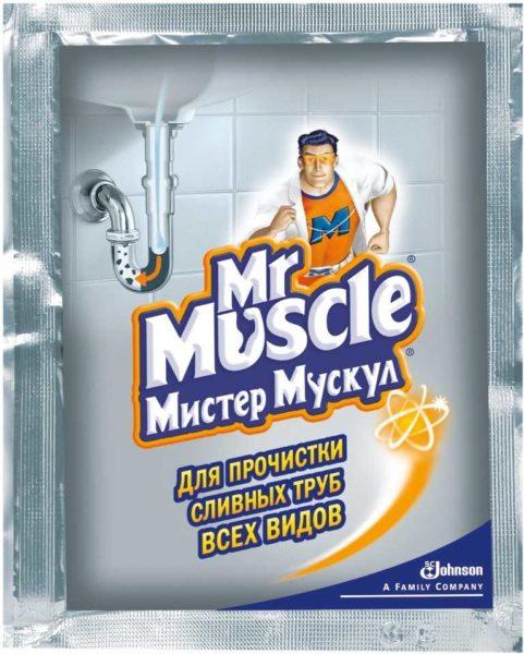 Как считают многие - Мистер Мускул - лучшее из средств для прочистки канализационных труб