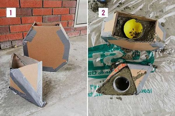 Форма для изготовления бетонного вазона своими руками