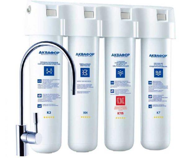 Аквафор Кристалл Эко Н - для очищения и обеззараживания воды повышенной жесткости