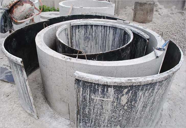 Бетон для колец воздух в цементном растворе