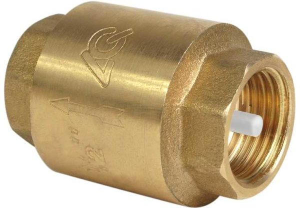 Это обратный клапан. При установке ставят так, чтобы стрелка на корпусе совпадала с направлением тока воды