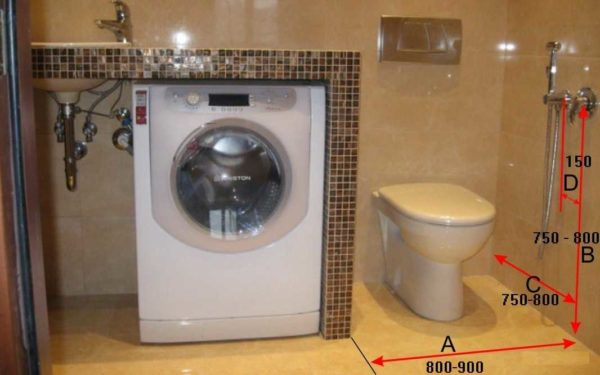 Ставить гигиенический душ надо так, чтобы было удобно пользоваться