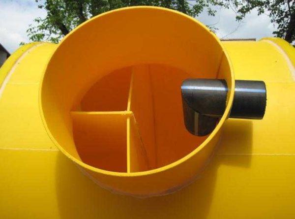 Септик Тритон Т - классического вида емкость для переработки стоков из дома или дачи
