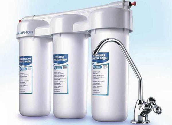 Многоступенчатые системы очистки воды дают хорошие результаты