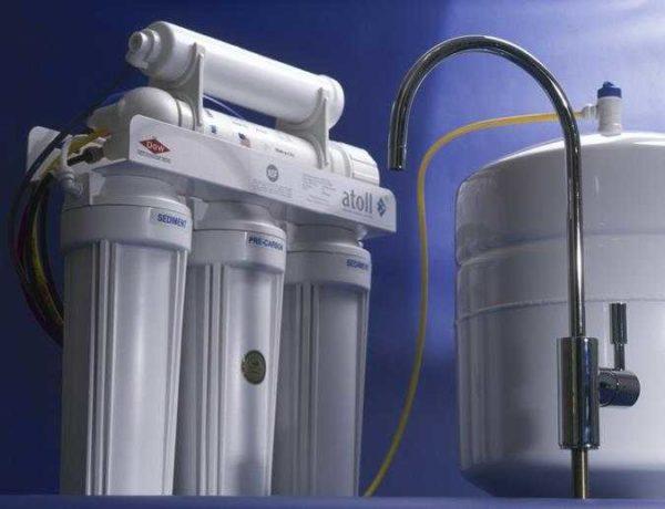 Системы обратного осмоса комплектуются баками для очищенной воды