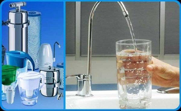 Для доведения до нормы необходимы разные виды фильтров для очистки воды