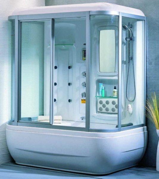 Глубокий поддон можно использовать как ванну